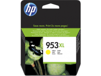 HP 953XL Yellow High Yield Ink Cartridge 20ml for HP OfficeJet Pro 8210/8710/8720/8730/8740 - F6U18AE