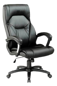 WELLINGTON PU MANAGERS CHAIR BLACK BCP/T102/BK