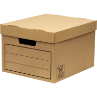 Fellowes General Storage and Archive Box Board Brown (Pack 10)
