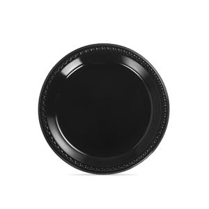 PLASTIC PLATE BLACK 81410 10-1/4