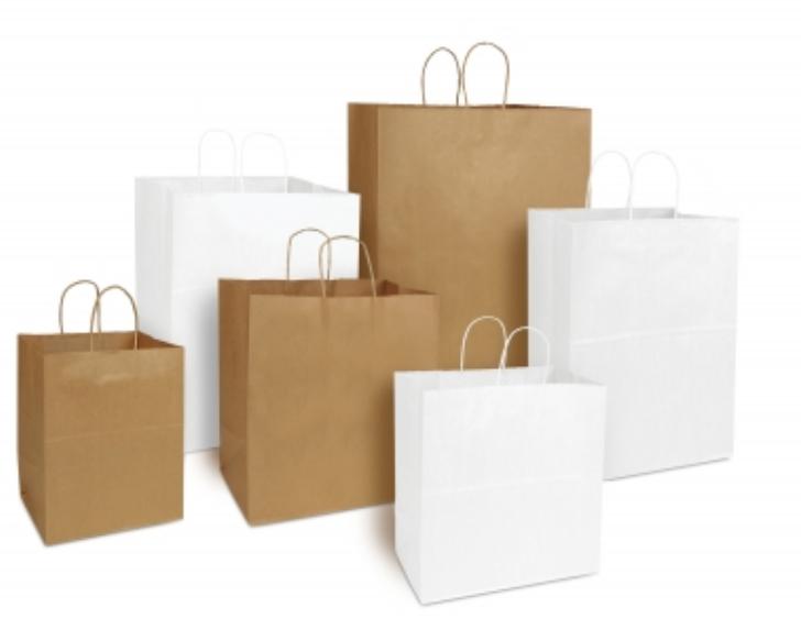 GROCERY BAG 51004 4# WHITE 5X3-1/8X9-3/4 500/CS