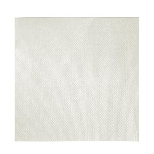 NAPKIN 8124 BEVERAGE WHITE 9