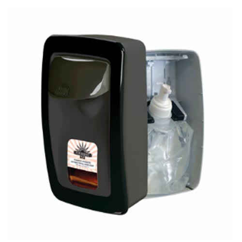 PP8900F-EA Performance Plus Manual Soap Dispenser Black with Black Trim 1 / ea