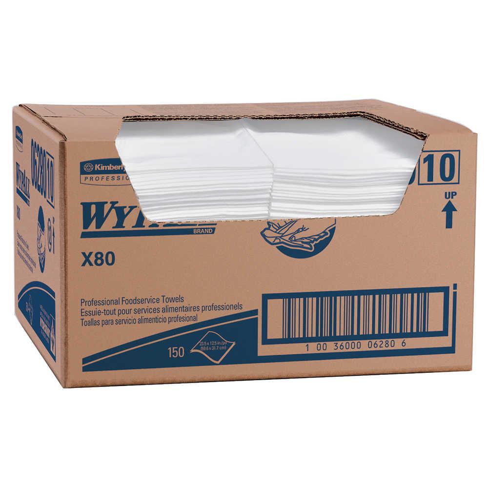 WIPER 06280 FOODSERVICE 12.5X23.5 SHEET 150/CS
