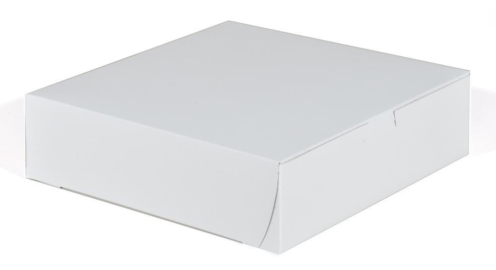 (10-8PIZZA BOX 10X10X1.5 CHIPBOARD 1409 WHITE LC 1 PC 100/CS