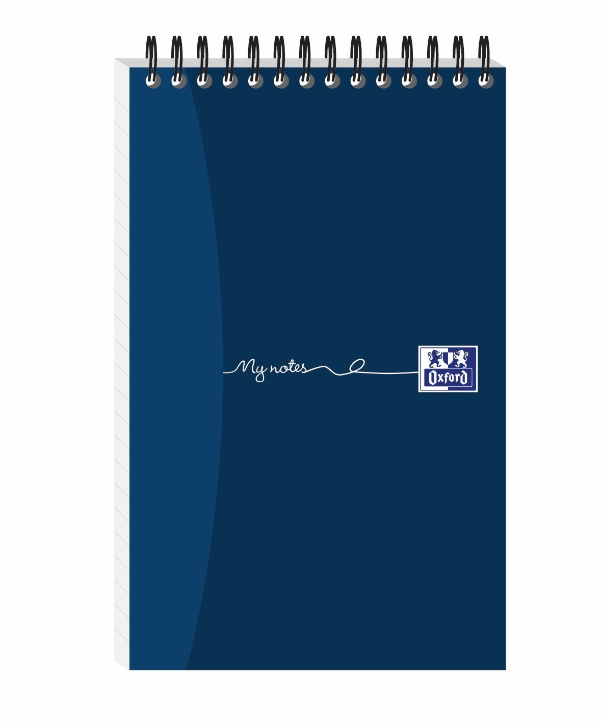 Oxford MyNotes Reporters Notebook 90gsm Ruled Perforated 160pp 125x200mm Ref 100080496 [Pack 10]