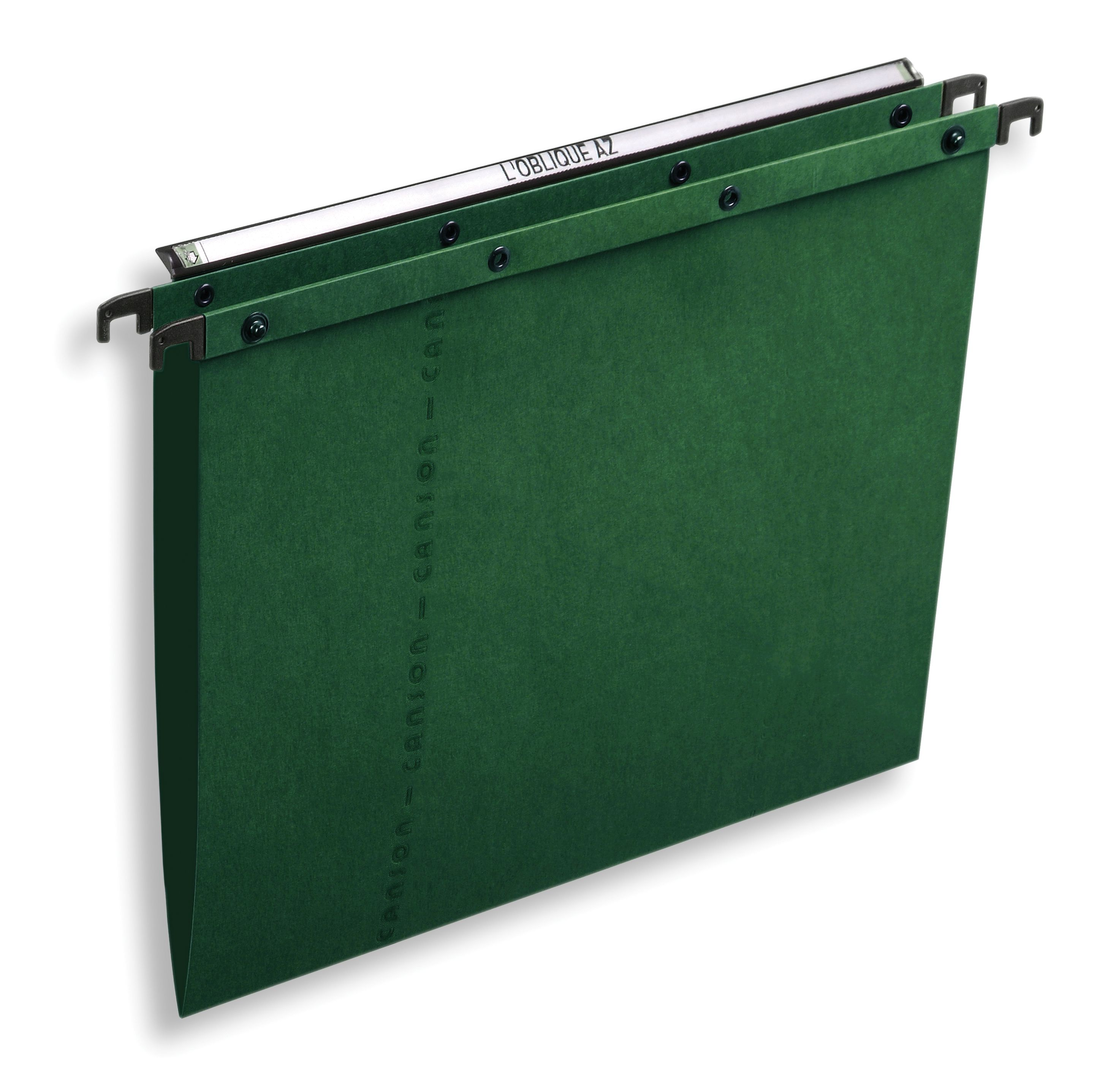 Elba AZV Ultimate A20 Suspension File Manilla V-Base Foolscap Green Ref 100330318 [Pack 25]