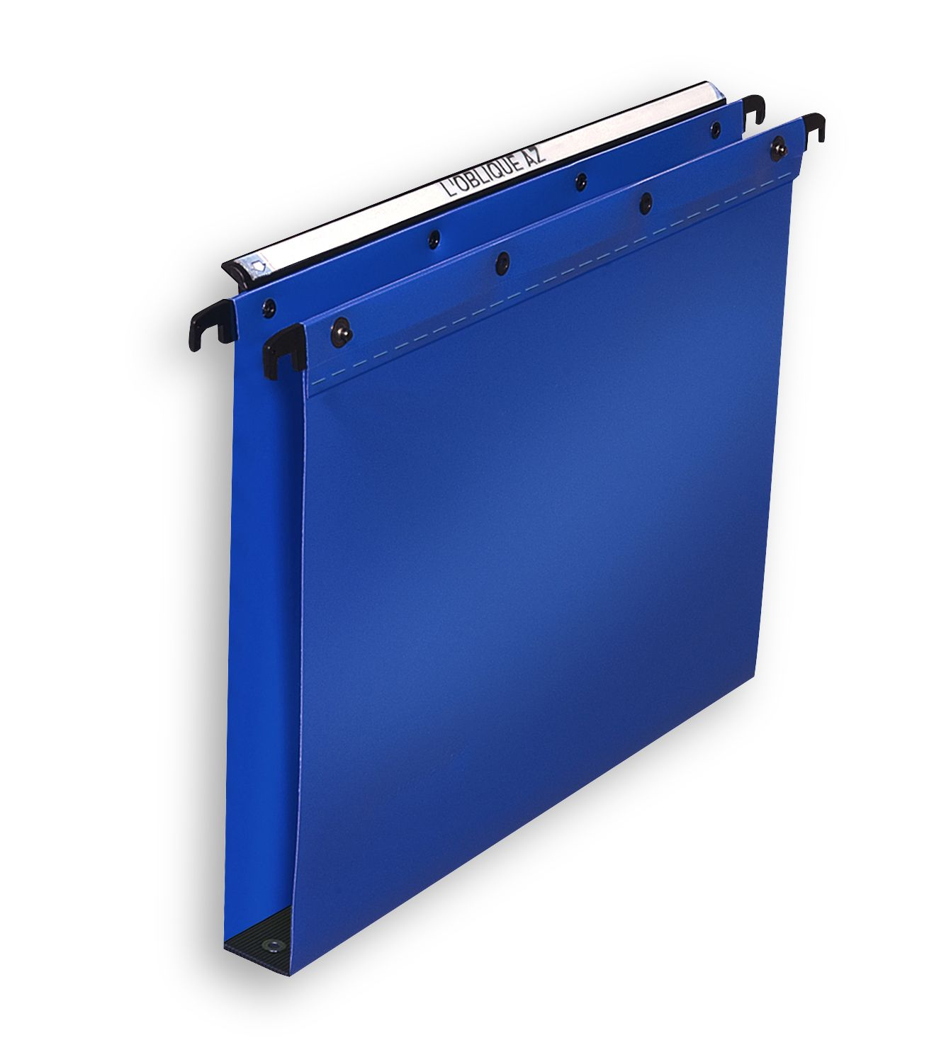 Elba Ultimate Suspension File Polypropylene 30mm Foolscap Blue Ref 100330371 [Pack 25]