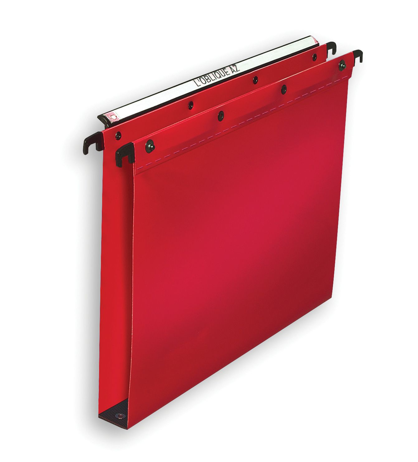 Elba Ultimate Suspension File Polypropylene 30mm Foolscap Red Ref 100330374 [Pack 25]