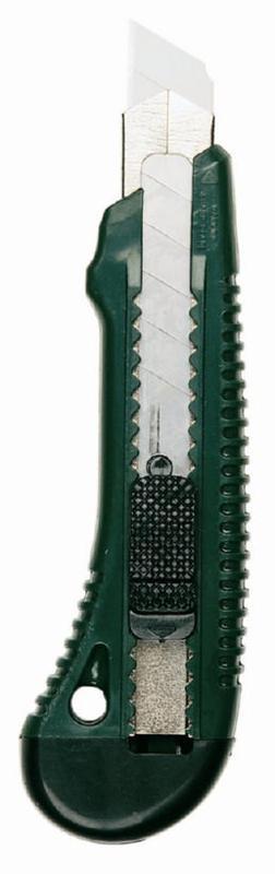 Cutting Knife & Blades Linex Hobby Knife Snap Off Blade 18mm Black/Green