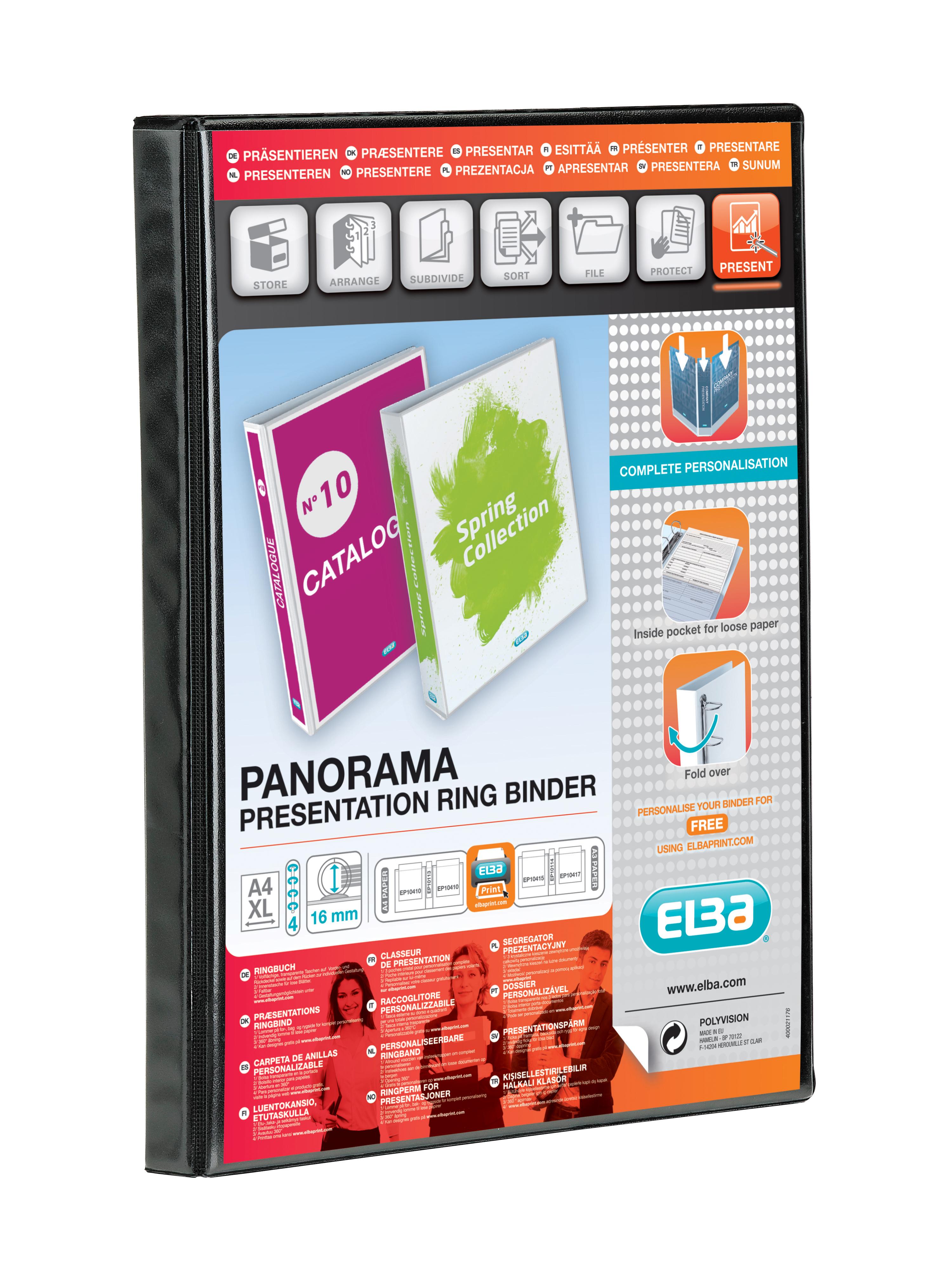 Elba A4 Pano 4O 16mm Blk 400020317