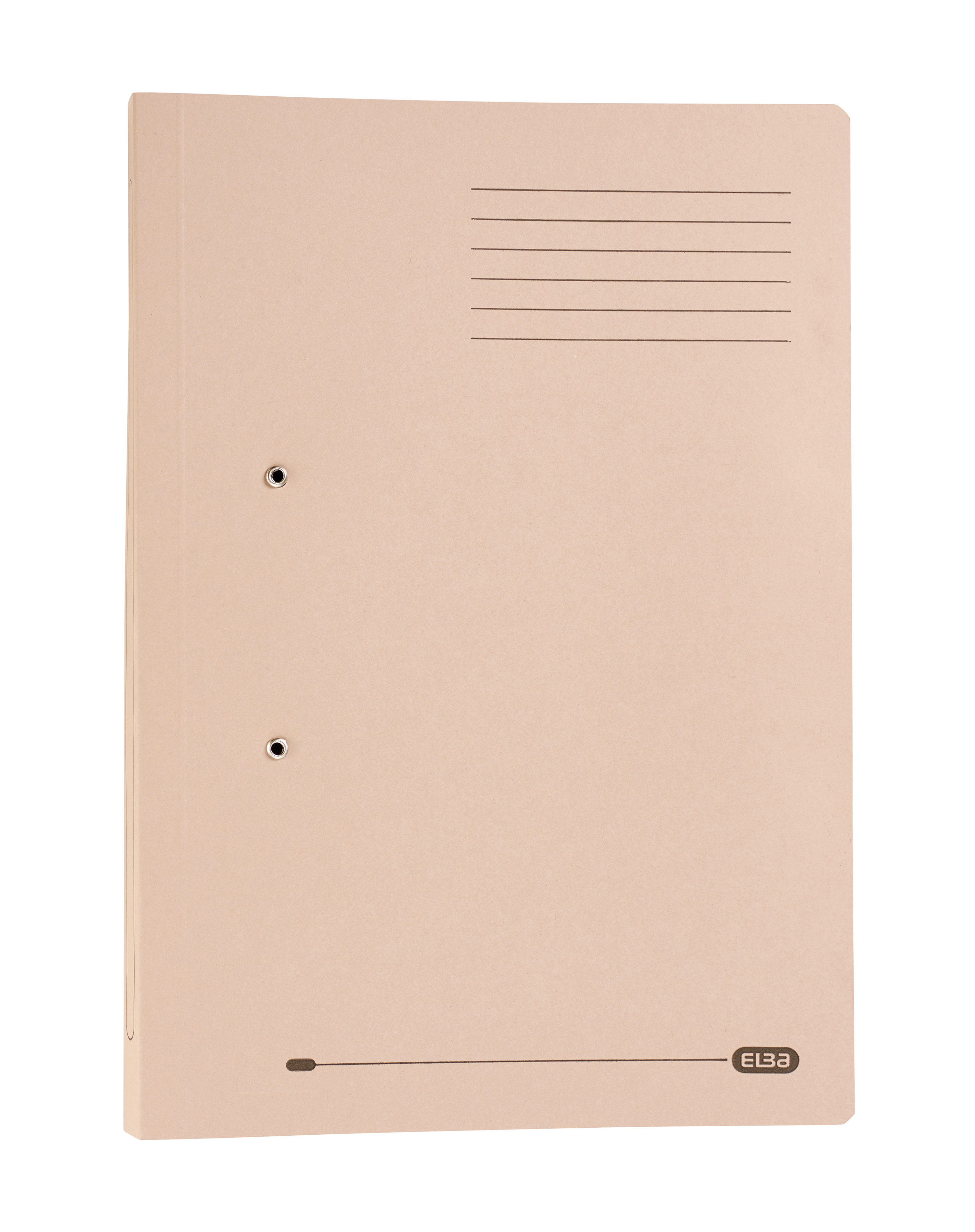 Elba StrongLine Transfer Spring File 320gsm Foolscap Buff Ref 400053604 [Pack 25]
