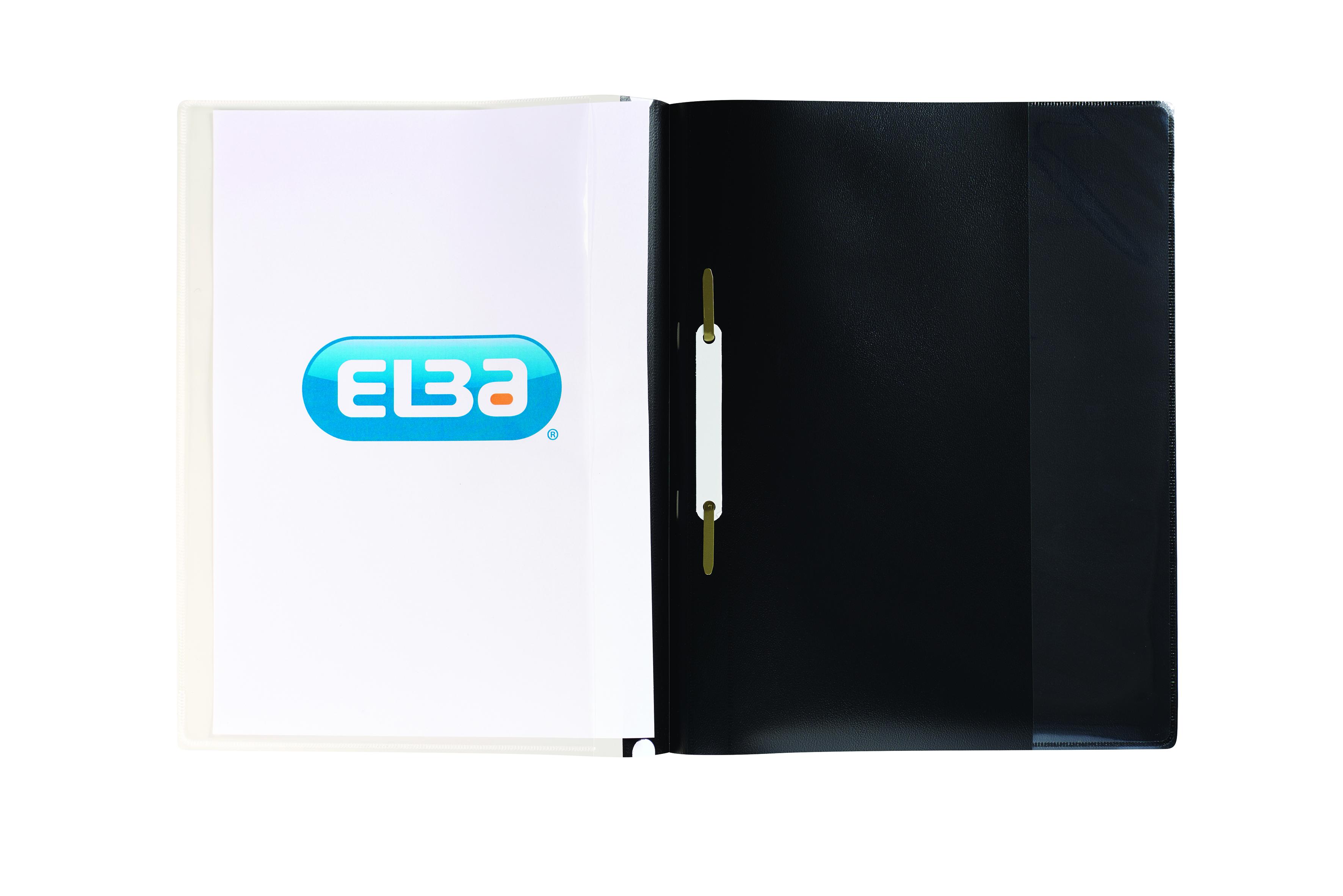 Elba A4 Black Quotation Folder Pk25
