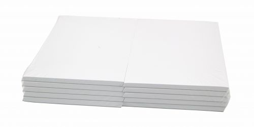 Cambridge Memo Pad Plain 70gsm 80 Sheets 203x127mm Ref 100080175 [Pack 10]