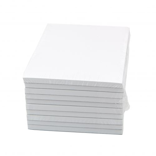 Cambridge Memo Pad Headbound 70gsm Plain 160pp A6 White Paper Ref 100080233 [Pack 10]