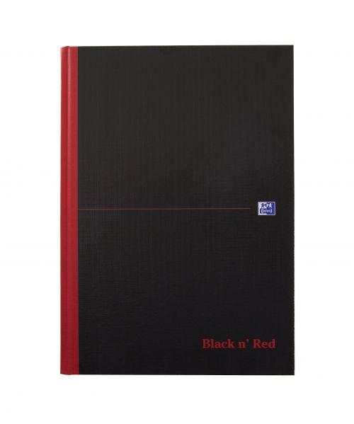 Black n' Red A-Z Casebound Hardback Notebook A4 (Pack of 5) 100080432