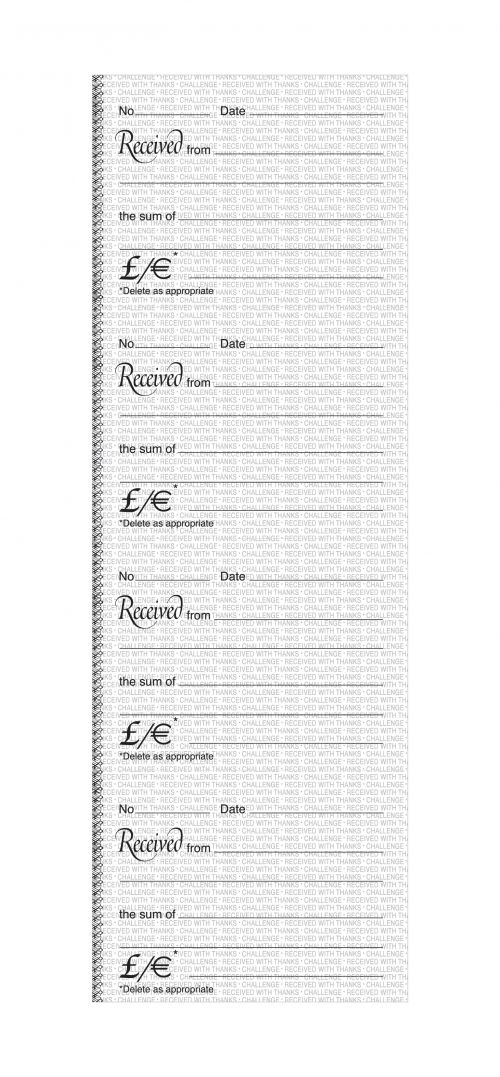 Image for Challenge Duplicate Book Carbon Receipt Book 4 Sets per Page 200 Sets 241x92mm Ref 100080450 [Pack 10]