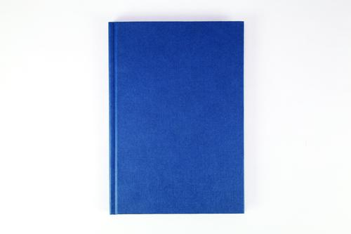 Cambridge Notebook Casebound 70gsm Ruled 192pp A5 Blue Ref 100080493 [Pack 5]