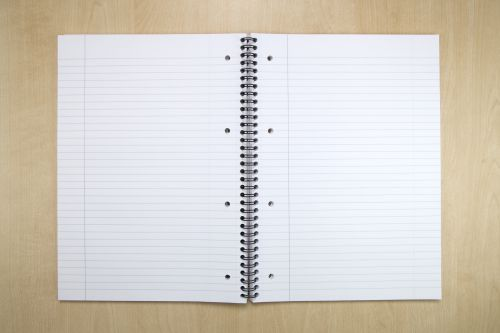 Oxford MyNotes Notebook Wirebound Punched 4 Holes 90gsm Ruled and Margin 160pp A4 Ref 100080545 [Pack 3]