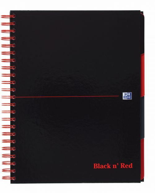 Black n' Red Hardback Wirebound Project Book 200 Pages A4+ (Pack of 3) 100080730