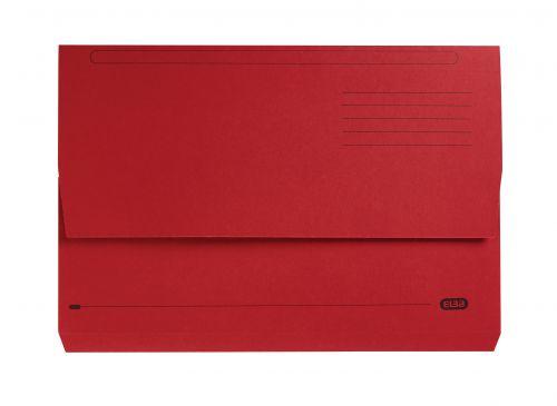 Elba Strongline Manilla Document Wallet 320gsm Capacity 32mm Foolscap Bordeaux Ref 100090139 [Pack 25]