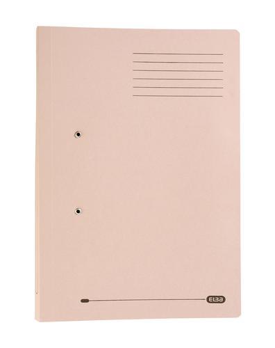 Elba Stratford Spring Pocket Transfer File Manilla Foolscap 320gsm Buff (Pack 25)