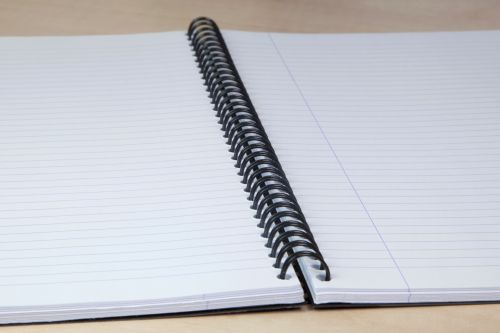 Oxford Office Notebook Twin Wirebound 180pp 90gsm A4 Random Bright Colour Ref 100104241 [Pack 5]