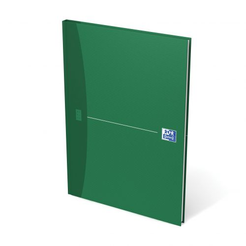 Oxford Office Nbk Casebound Hard Cover 90gsm Smart Ruled 192pp A4 Assorted Colour Ref 100105005 [Pack 5]