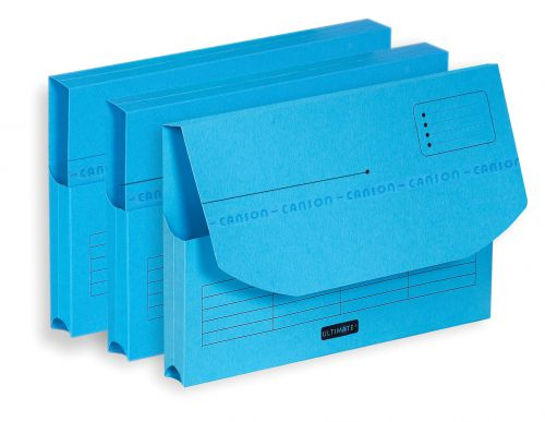 Elba Ultimate Document Wallet Half Flap A4 Assorted Ref 100330167 [Pack 25]