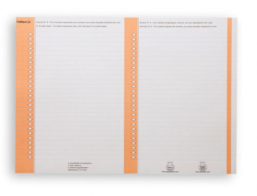 Bantex Flex Card Inserts for Lateral File Tabs White Ref 100330205 [Labels 270]