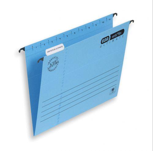 Elba Verticflex Ultimate Suspension File A4 Blue (25) 100331149