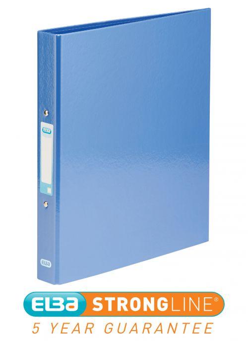 Elba Classy Ring Binder A4 25mm Metallic Blue 400017757