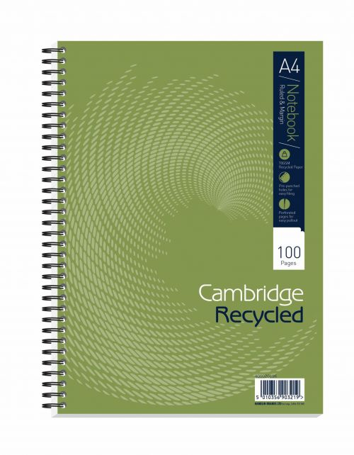 Cambridge RcycA4 100pg Wbnd Nbk400020196