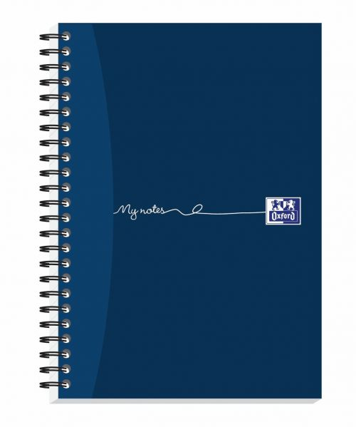 Oxford My Notes Card Cover Wirebound Notebook 100 Pages A5 (Pack of 5) 400020197