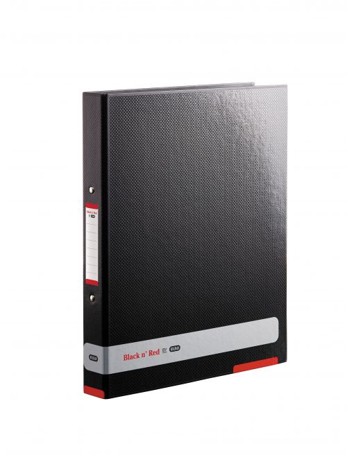 Black n Red 25mm 2 Ring Binder Laminated Board A4 400051510