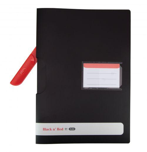 Black n Red Swing Clip File Ref 400063613 [Pack 5]