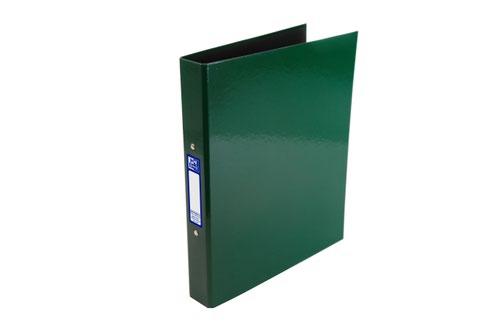 Elba Ring Binder Laminated Gloss Finish 2 O-Ring 25mm Size A4+ Green Ref 400107355
