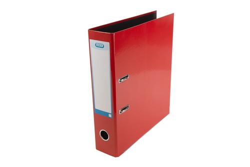 Elba Lever Arch File A4 70mm Spine Laminated Paper On Board Red 400107431