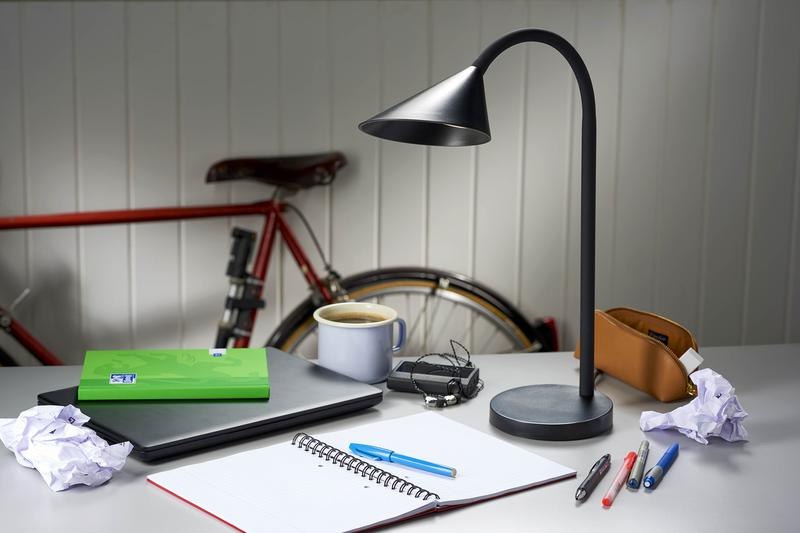 Unilux Sol LED Desk Lamp Black