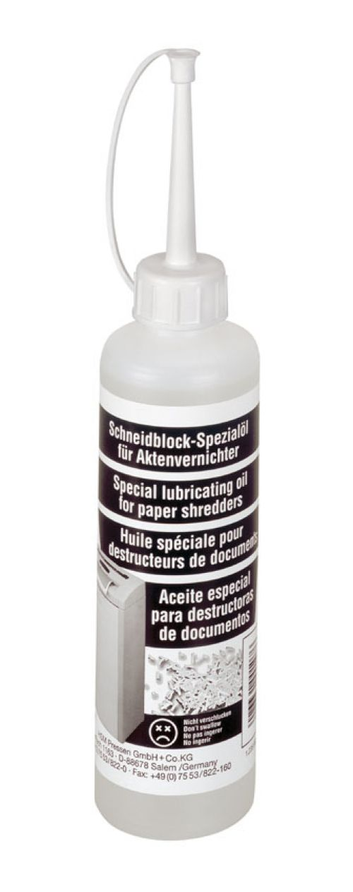 Special Lubricating Oil Bottle 250 ml