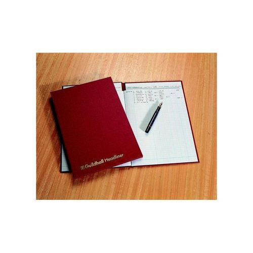 Guildhall Account Book 38 Series 6 Cash Column 80 Pages