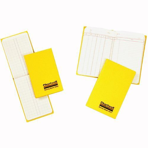 Chartwell Survey Book Dimension Weather Resistant 80 Leaf 106x205mm