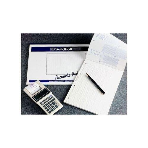 Guildhall 2-Column A4 Cash Account Pad GP2