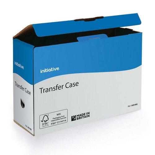 Initiative Transfer Case 102w x 355d x 249h mm A4/ Foolscap 100mm Capacity