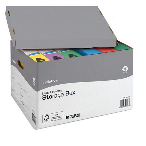 Initiative File Away Stor Box Large
