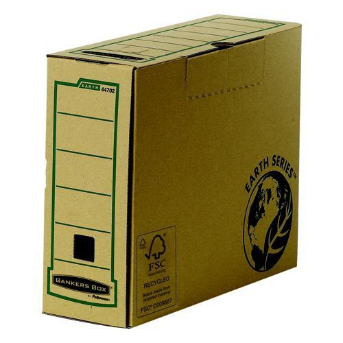 Fellowes R-Kive Box Earth Series A4 Transfer Files 100mm