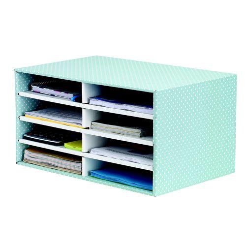 Bankers Box Desktop Sorter Green/White