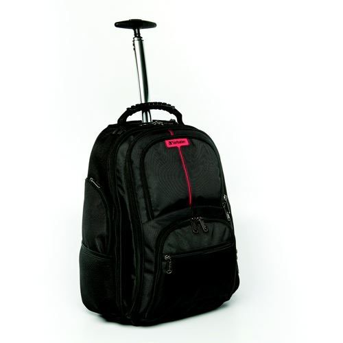 Image for )Verbatim Paris Roller Backpack Blk 498