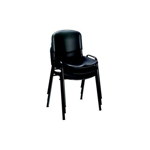 Trexus Stacking Chair Polypropene with Seat 480x450x460mm Black
