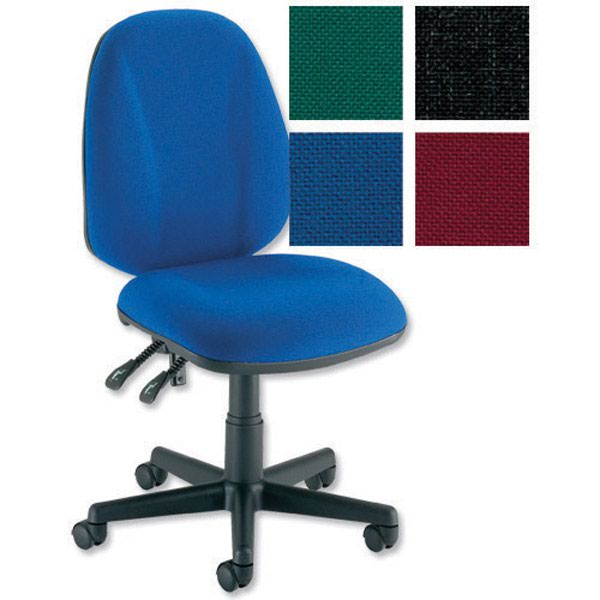 Initiative High Back Permanent Contact Chair Royal